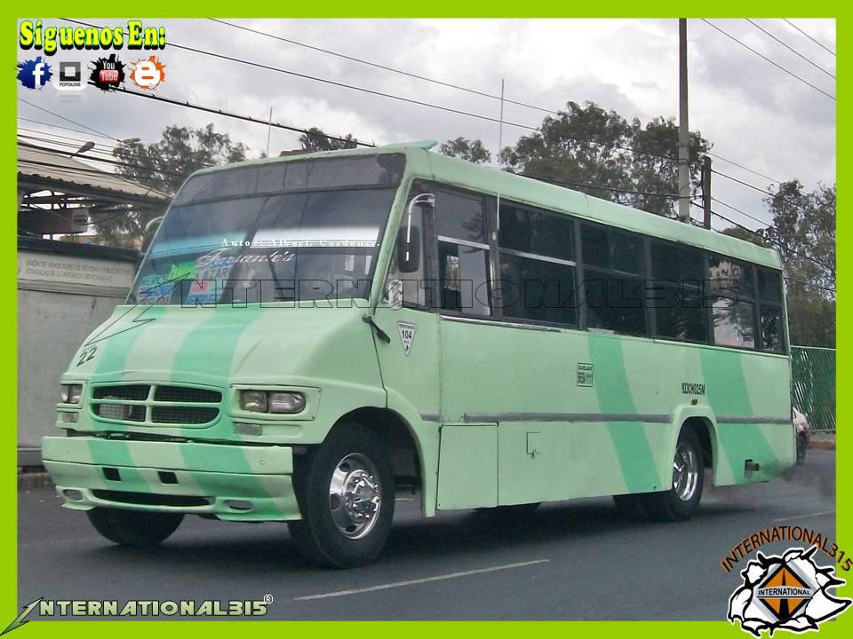 International 315 mercedes benz eurocar g2 ruta 104 for International mercedes benz