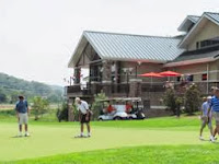 Play golf in the Smoky Mountains.