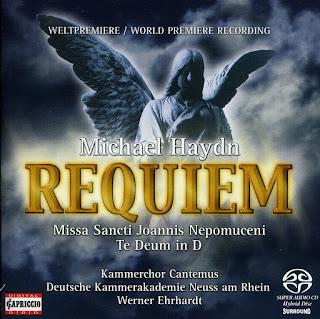 Haydn, M.: Requiem in C Minor / Missa Sancti Joannis Nepomuceni / Te Deum in D Major
