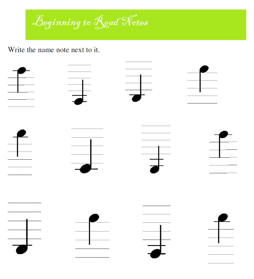 How to learn notes