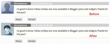 change default blogger anonymous avatar