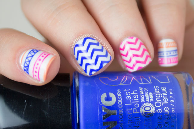What's Up Nails Skinny Chevrons