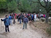 Reagrupant-nos sota la Serra de la Guàrdia. Autor: Carlos Albacete