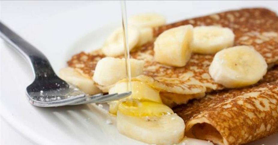 Panqueca de banana diet