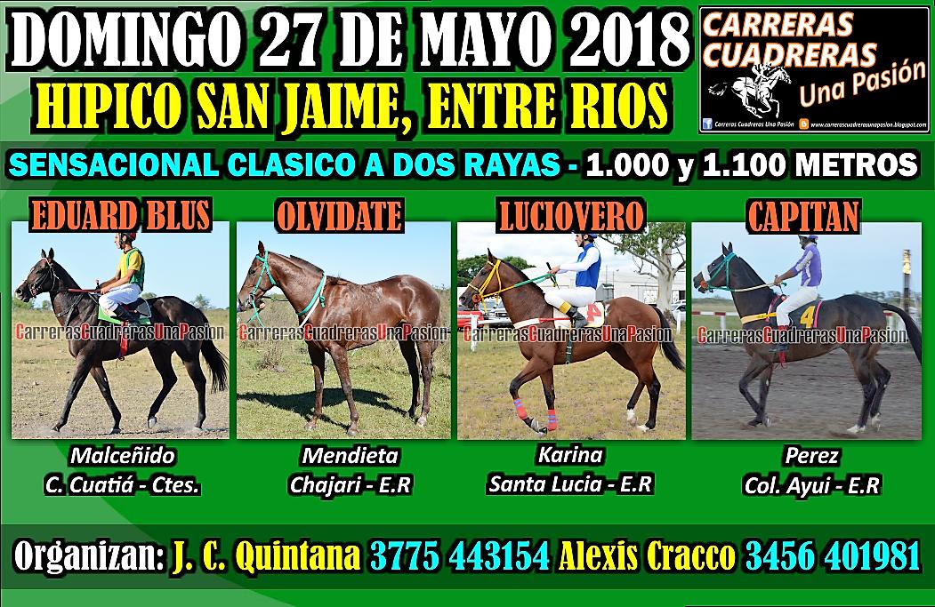SAN JAIME - CLASICO 1000 Y 1100