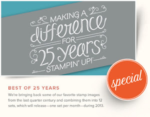 Best of 25 Year Stamp Sets