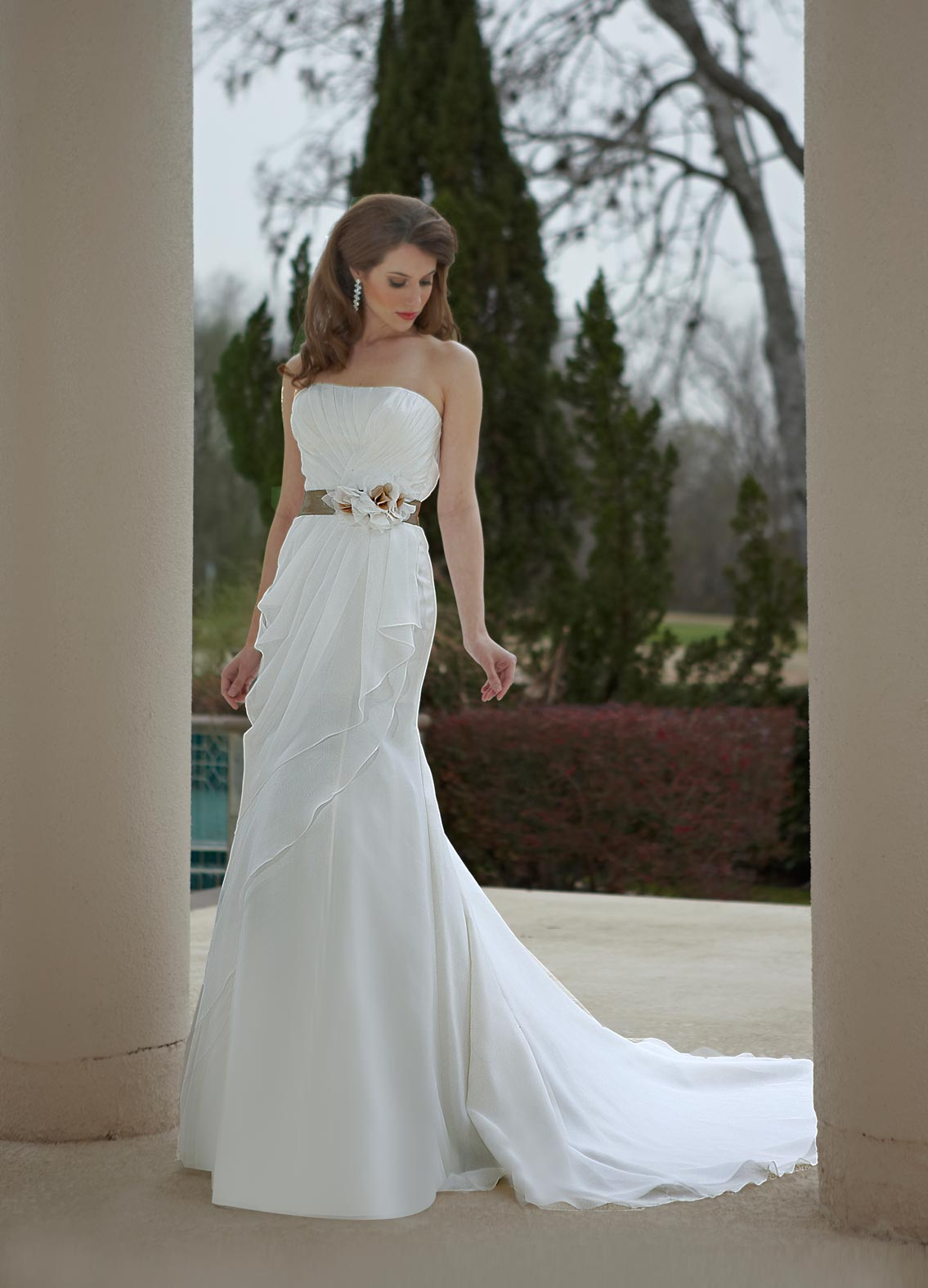Wedding dresses unique dresses for elegant bride princess for Cheap wedding dresses in florida