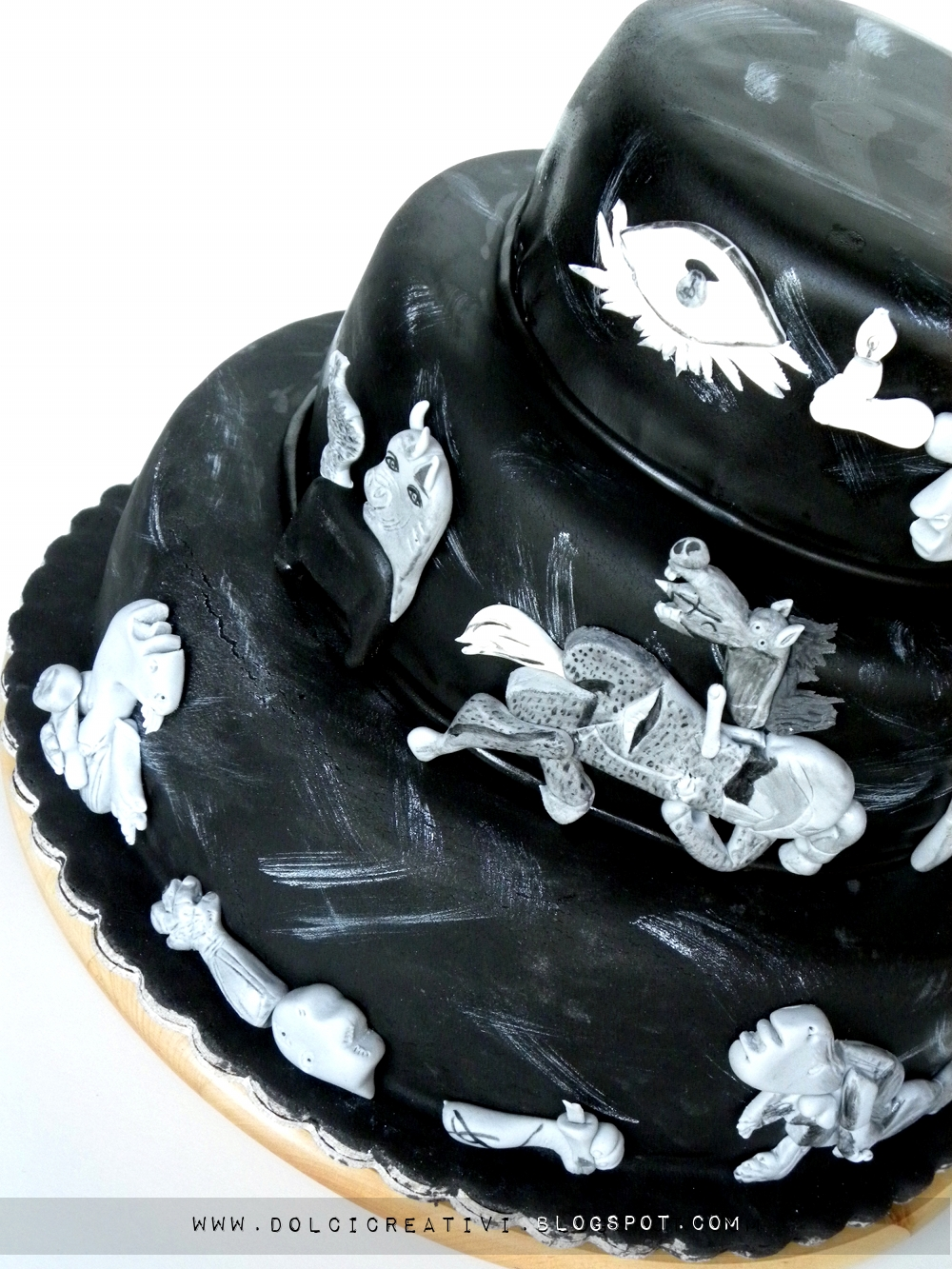 Torta Guernica di Picasso
