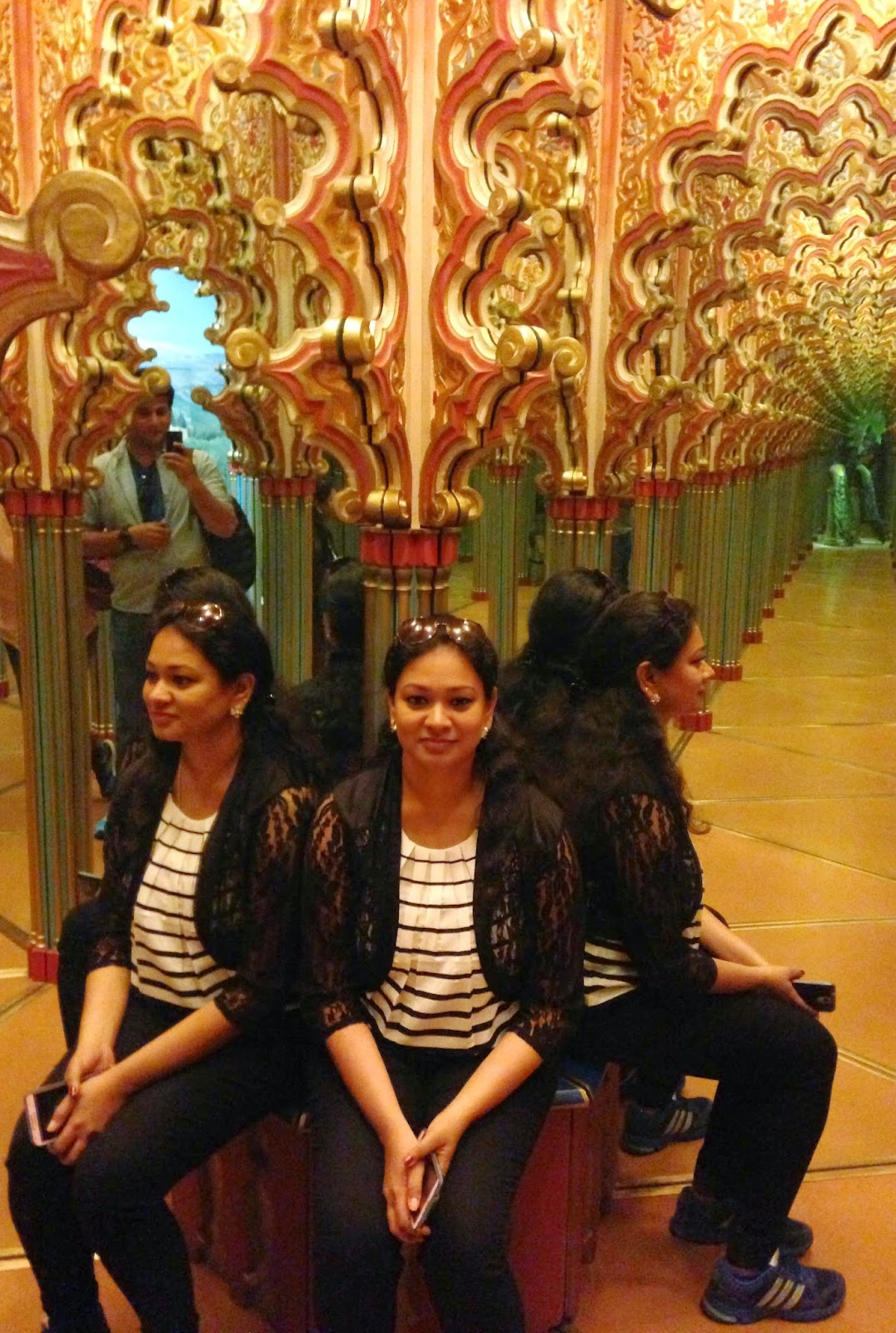 Hall of Mirrors Glacier Garden Lucerne