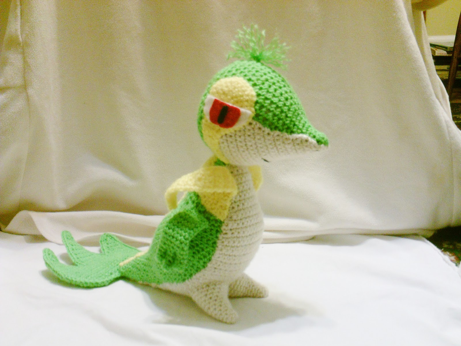 Amigurumi - Knitted and Crocheted: The Grass-type Unova ...