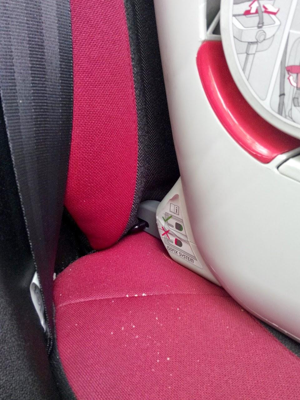 izofixli oto koltuğu