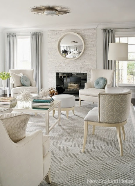 traditional living room beige tan white neutral palette