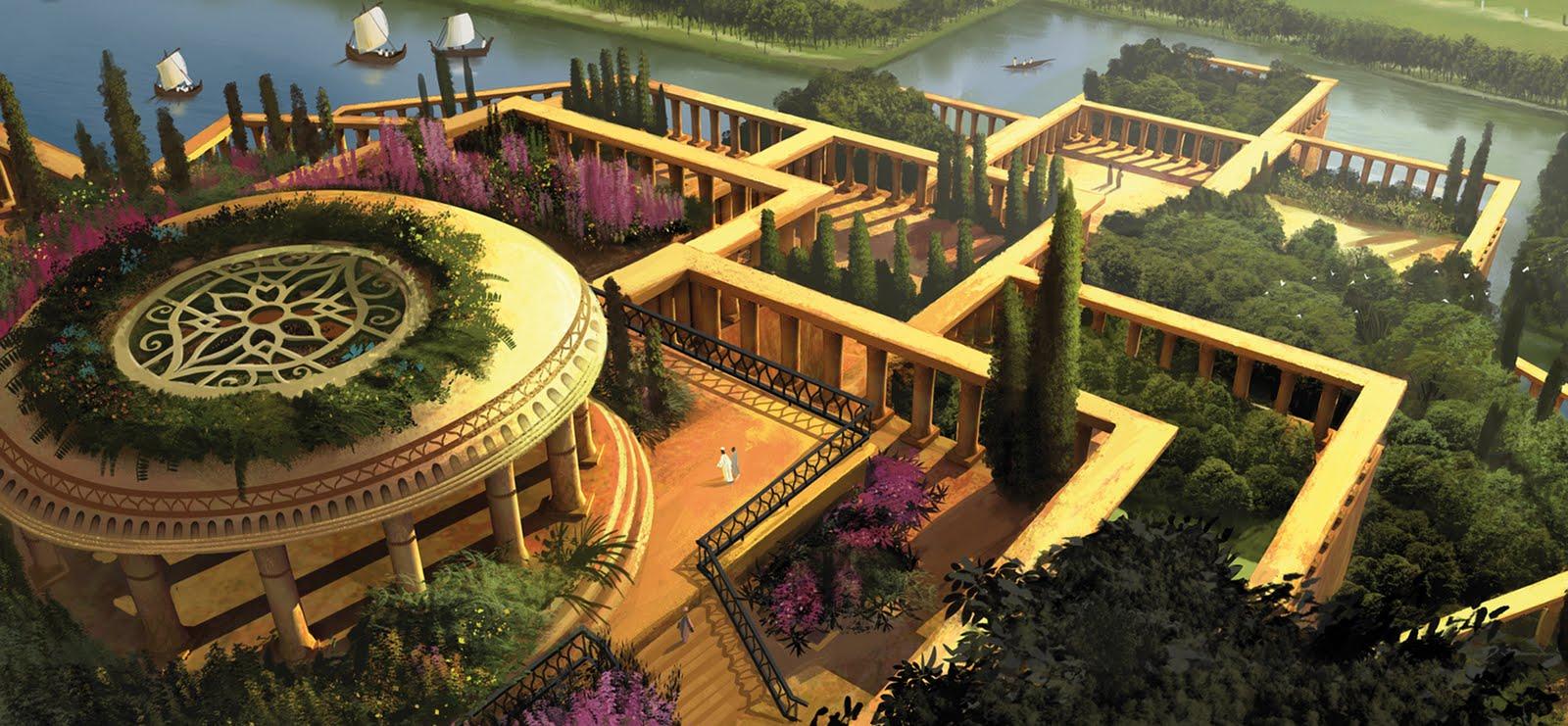 Divulgaci n cient fica las siete maravillas de la antig edad for Histoire des jardins wikipedia
