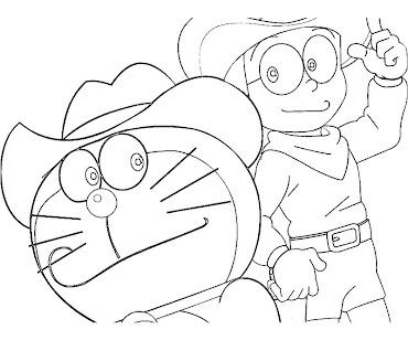 #10 Doraemon Coloring Page