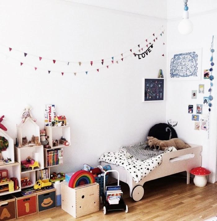 Antoine's & Leonor's room  with Rafa-kids toddler bed