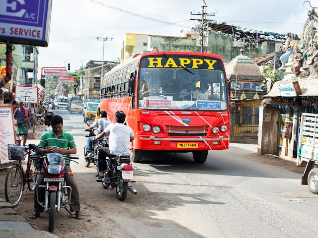 """автобус """"будь счастлив"""""""