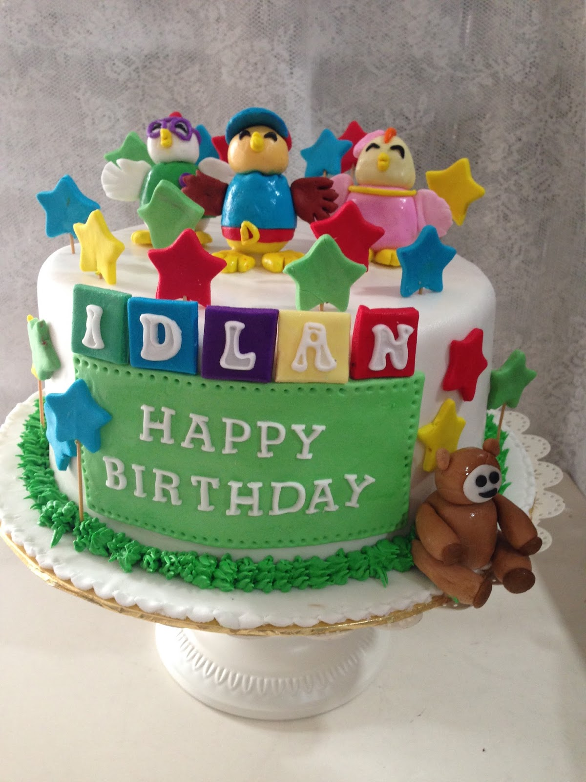 ninie cakes house: Didi and Friends Fondant Cake