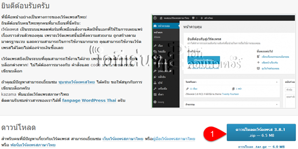 thai wordpress
