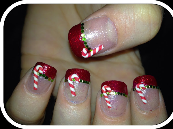 Day 19 - Sequins and Candy Canes