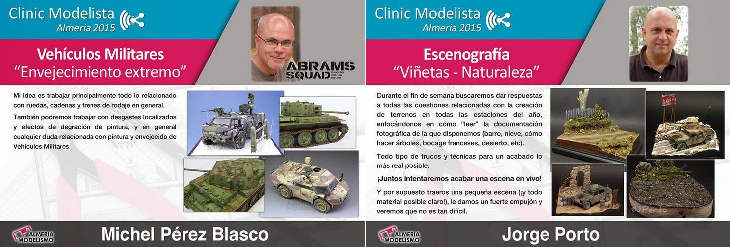 Clinic Modelista Almería 2015
