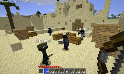 Minecraft multiplayer in game
