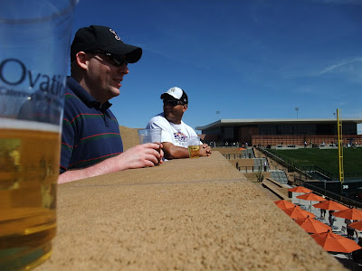 beer at the diamondbacks stadium, arizona, spring training