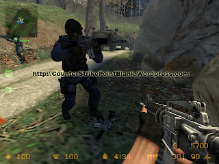 XShot M4A1 Silver VGUI in Counter Strike Source