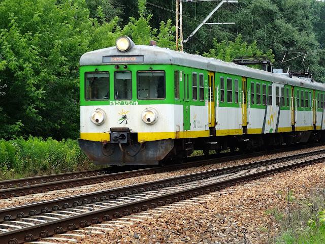 Linia kolejowa nr 7 na terenie Warszawy