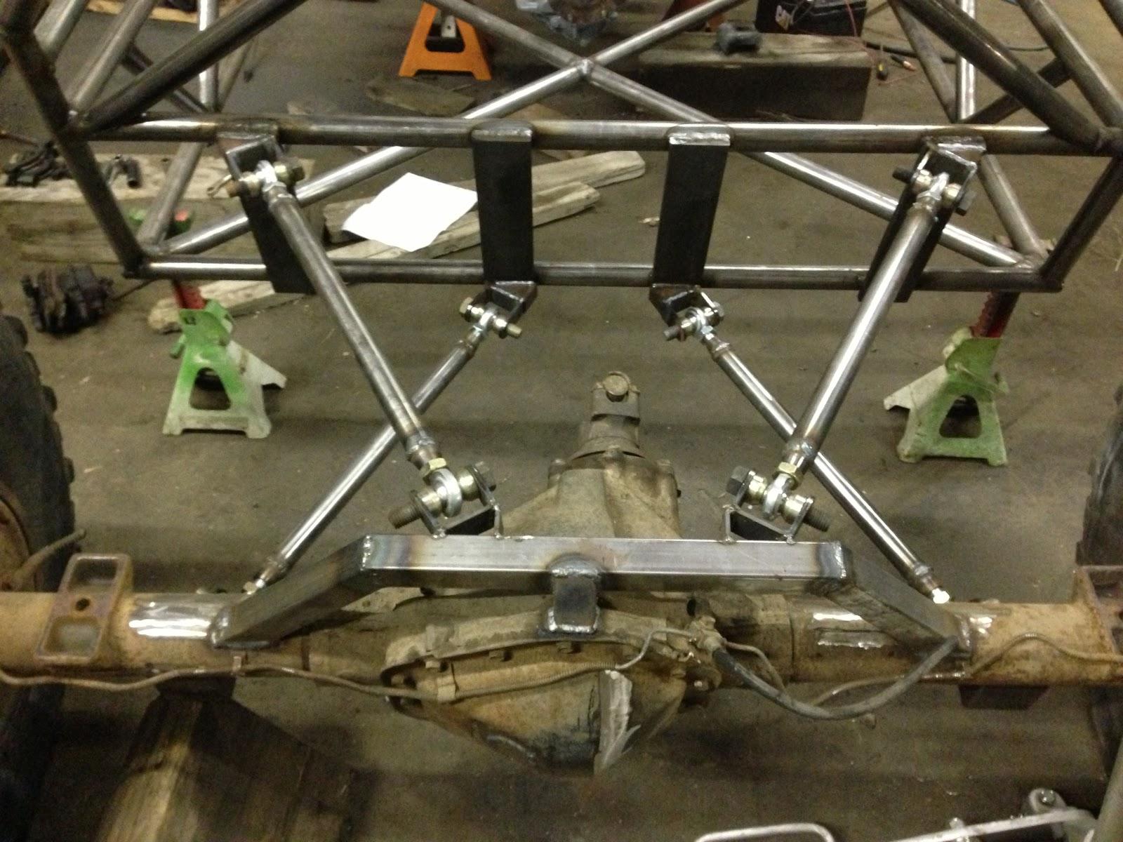The Indestructible V8.: Rear Four Link Suspension Complete