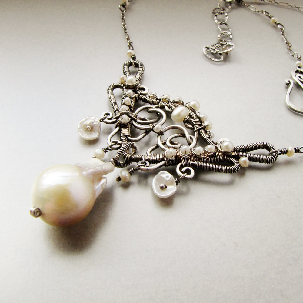 Design Jewelry and Accessories Magazine Featured wire jewelry