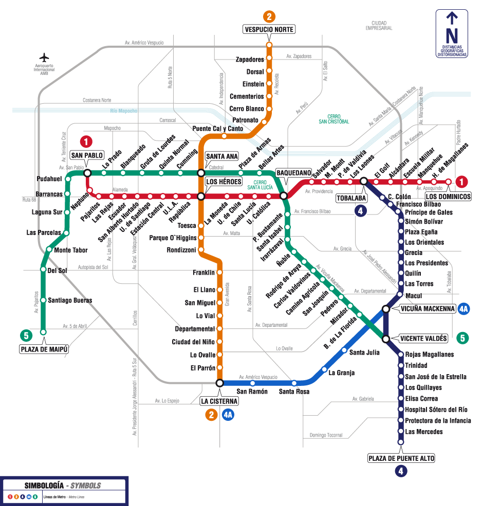 One Chile Tips: Metro extenderá hasta las 2 de la mañana ...