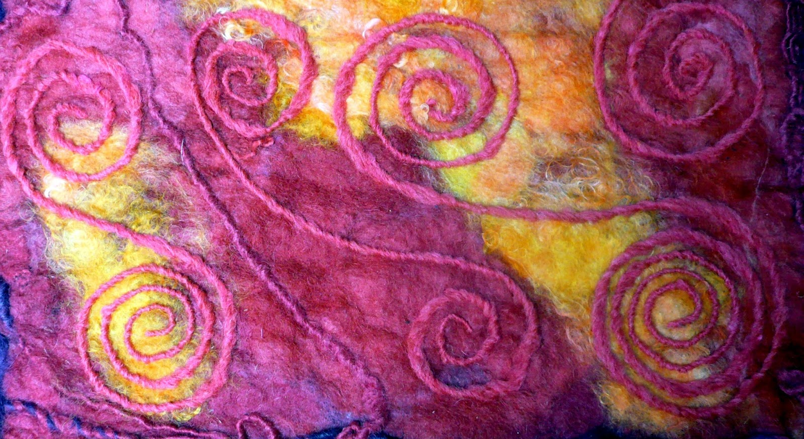 Faroeviking handspun me myself and yarn dryer felting new to but the actual process of wet felting is arduous for me and i seem to have enough aches and pains as it is without leaning over a countertop and rolling baditri Images