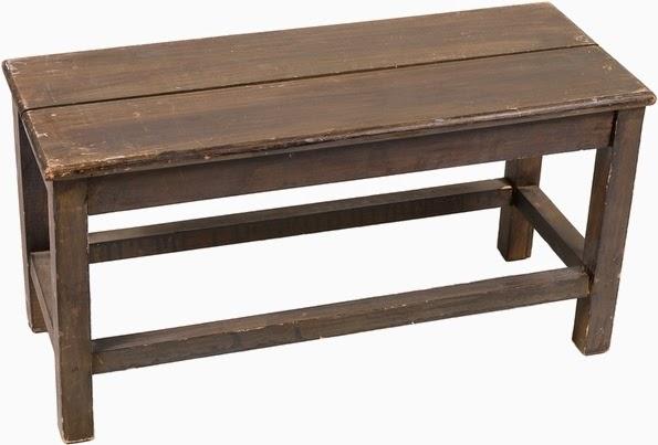 Pinta una mesa de madera en algún color