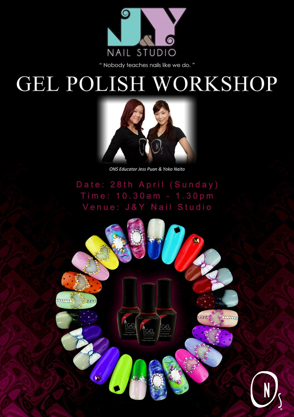 J nail studio gel polish workshop for 195 pearl s hill terrace