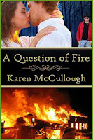 Cover: A Question of Fire by Karen McCullough