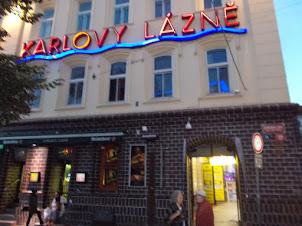 """KARLOVY LAZNE"" in Prague. The biggest discotheque in Central Europe."
