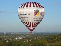 Bourgogne-Montgolfière