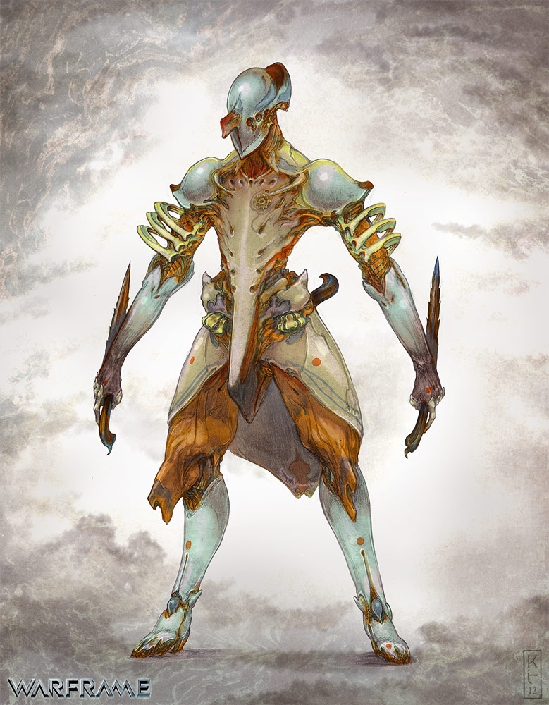 Character Design Techniques Keith Thompson : Keith thompson art volt from warframe