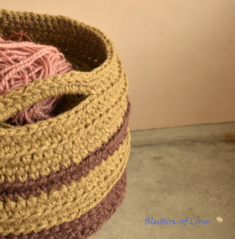 My Crocheted Basket
