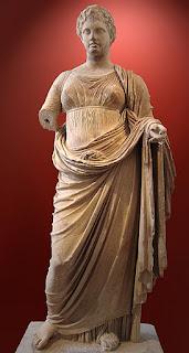 Second wife of Zeus,  Titaness Themis.
