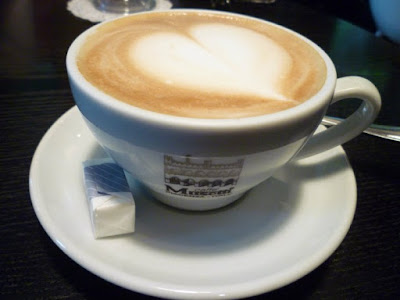 Cafe Latte at Coffee Prince Hongdae