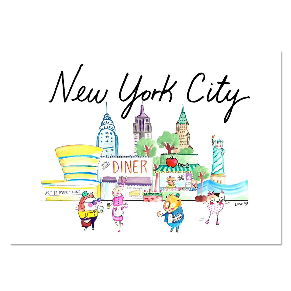 New York City Wall Print