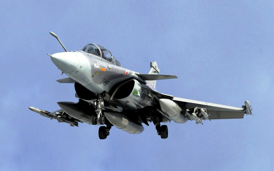Dassault Rafale jet fighter Wallpaper 3