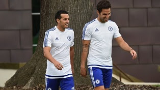 Pedro completes his £22m move from Barcelona to Chelsea