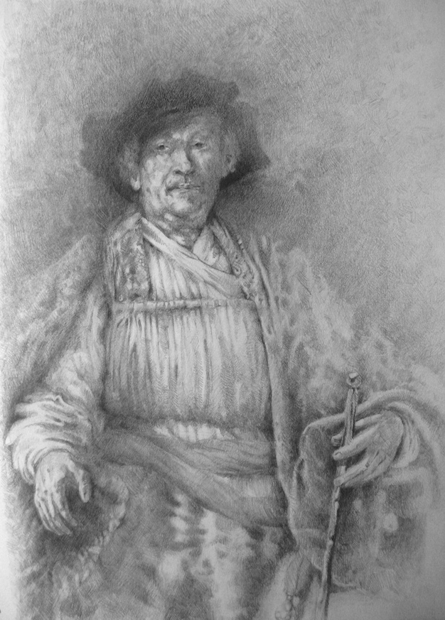 Rembrandt study by kevin gough