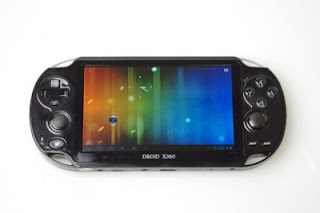 Droid X360, Mirip PS Vita dengan Android 4.0 ICS