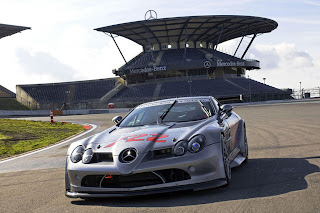 Mercedes Mclaren SLR 722 Wallpapers