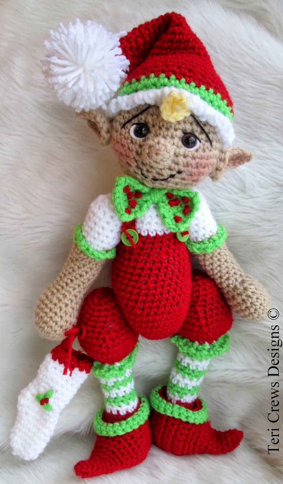 Teri\'s Blog: New Simply Cute Elf Crochet Pattern