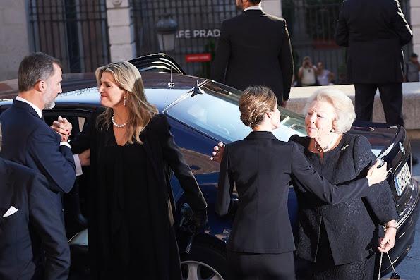 King Felipe VI of Spain and Queen Letizia of Spain, King Willem-Alexander and Queen Maxima, King Juan Carlos and Queen Sofia, Princess Beatrix, Princess Laurentien, King Simeon Borisov Sakskoburggotski and Margarita Gomez-Acebo, Miriam Ungria and Sons