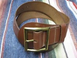 "40's DEAD STOCK  ""SAM BROWNE BELTS"""